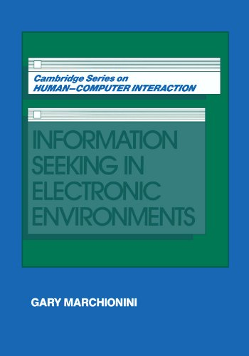 Information Seeking in Electronic Environments 9780521586740