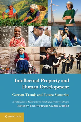 Intellectual Property and Human Development: Current Trends and Future Scenarios 9780521138284