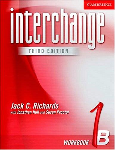 Interchange 1b by jack c richards jonathan hull susan proctor interchange 1b fandeluxe Gallery
