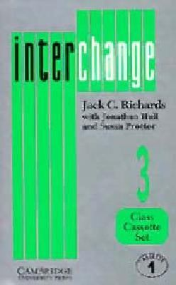 Interchange 3 Class Cassette Set (2 Cassettes): English for International Communication 9780521375368