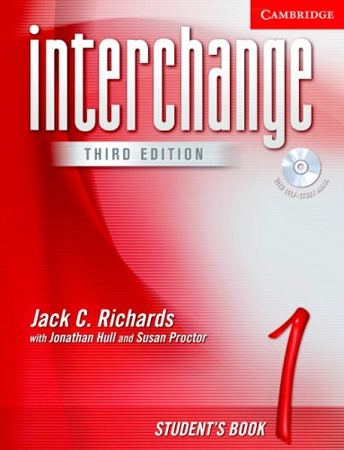 Interchange: Student's Book 1 [With CD] 9780521601719