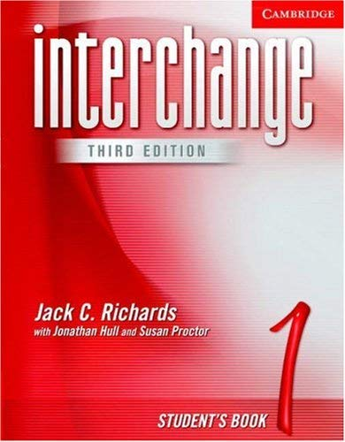 Interchange Student's Book 1 9780521601733