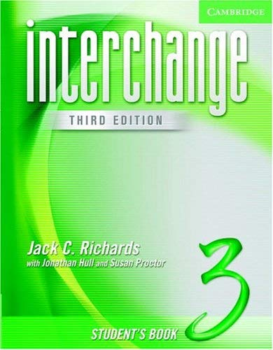 Interchange Student's Book 3 9780521602181