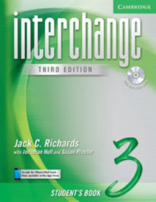 Interchange Student's Book 3 with Audio CD [With CD] 9780521602167
