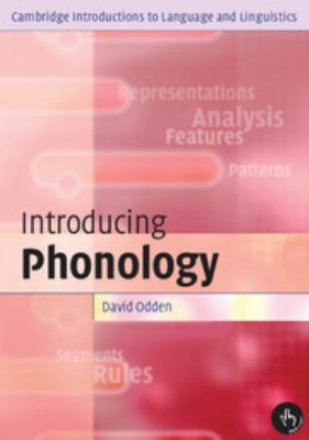 INTRODUCING PHONOLOGY ODDEN