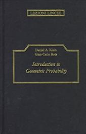Introduction to Geometric Probability 1764339
