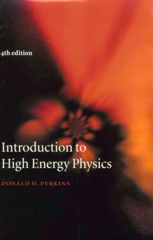 Introduction to High Energy Physics 9780521621960