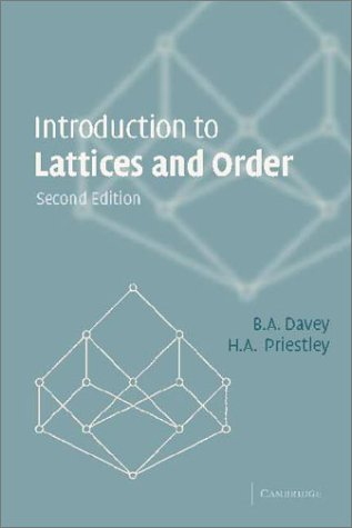 Introduction to Lattices and Order - 2nd Edition