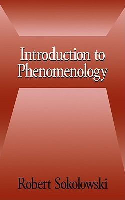 Introduction to Phenomenology 9780521660990