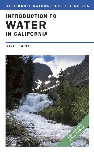 Introduction to Water in California 9780520260160