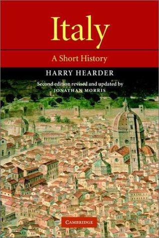 Italy: A Short History 9780521000727