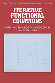 Iterative Functional Equations 9780521355612