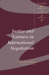 Justice in Fairness International Negotiation coupon codes 2015