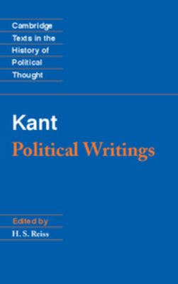 Kant: Political Writings 9780521391856