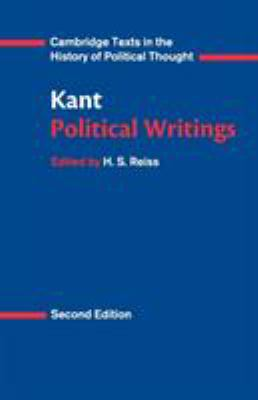 Kant: Political Writings 9780521398374