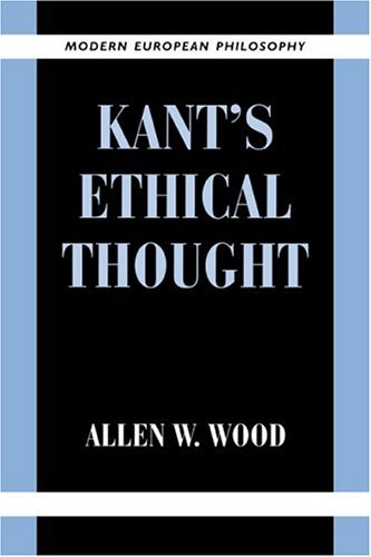 Kant's Ethical Thought 9780521648363