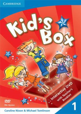 Kid's Box Level 1 Interactive DVD (Pal) with Teacher's Booklet [With Teacher Booklet]