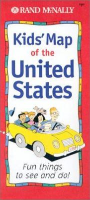 Kids' Map of the United States 9780528841965