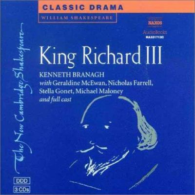 King Richard III Audio CD Set (3 CDs) 9780521006392