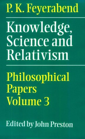 Knowledge, Science and Relativism 9780521641296