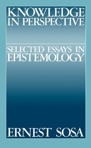 Knowledge in Perspective: Selected Essays in Epistemology 9780521396431