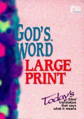 Large Print Bible-GW 9780529106742