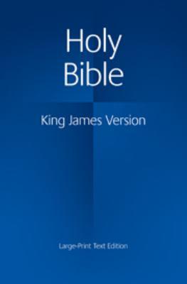 Large Print Text Bible-KJV 9780521163347