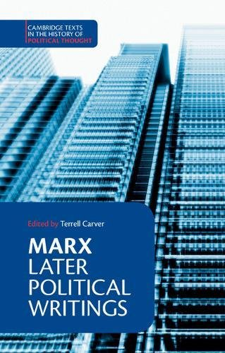 Marx: Later Political Writings 9780521367394