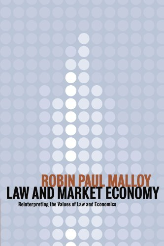 Law and Market Economy: Reinterpreting the Values of Law and Economics 9780521787314