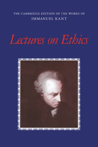 Lectures on Ethics 9780521560610