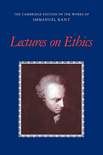 Lectures on Ethics 9780521788045