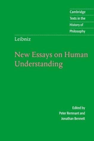 Leibniz: New Essays on Human Understanding - 2nd Edition