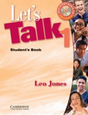 Let's Talk 1 Student's Book and Audio CD 9780521776950