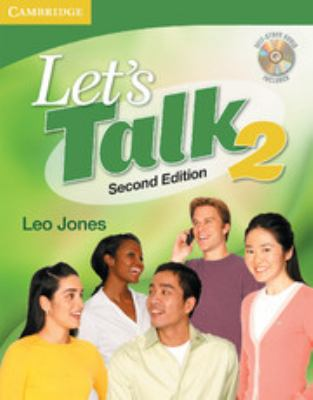 Let's Talk 2 [With CD (Audio)] 9780521692847