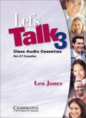 Let's Talk 3 Audio Cassettes 9780521776905