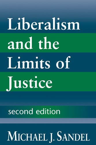 Liberalism and the Limits of Justice 9780521567411