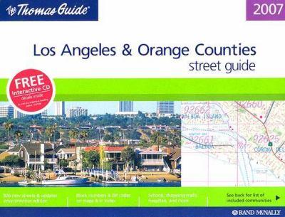 Los Angeles & Orange Counties Street Guide