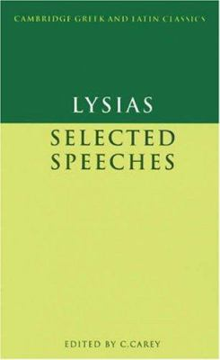 Lysias: Selected Speeches 9780521264358