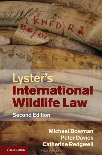 Lyster's International Wildlife Law 9780521527293