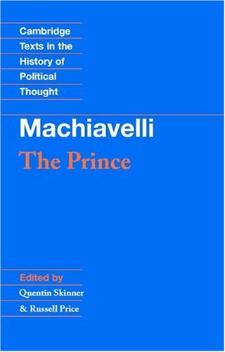 Machiavelli: The Prince 9780521349932