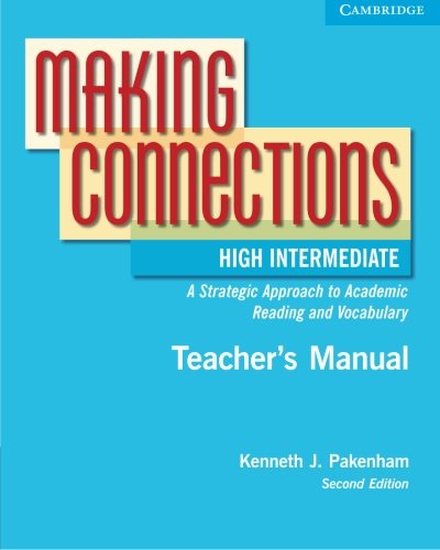 Making Connections: A Strategic Approach to Academic Reading 9780521542852
