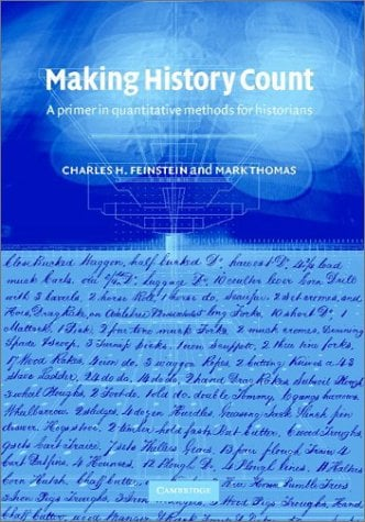 Making History Count: A Primer in Quantitative Methods for Historians 9780521806633
