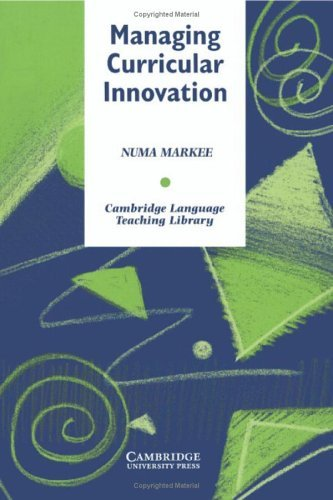 Managing Curricular Innovation 9780521555241