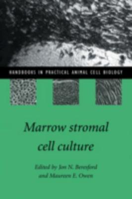 Marrow Stromal Cell Culture 9780521580212