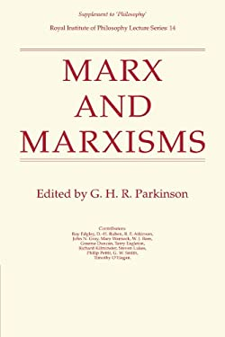 Marx and Marxisms 9780521289047