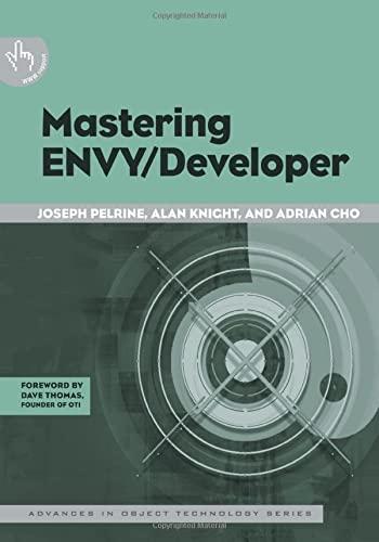 Mastering Envy/Developer