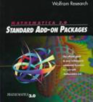 Mathematica 3 0 Standard Add on Packages 9780521585866