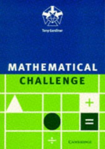Mathematical Challenge 9780521558754