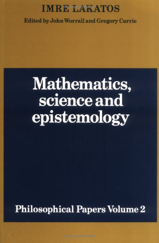 Mathematics, Science and Epistemology: Volume 2, Philosophical Papers 9780521280303