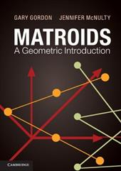 Matroids: A Geometric Introduction 18163932